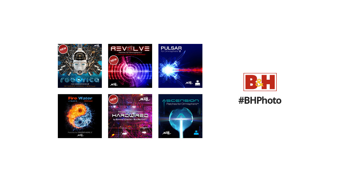 ILIO Patch Library Bundle for Spectrasonics Omnisphere 2 IL-PBUN