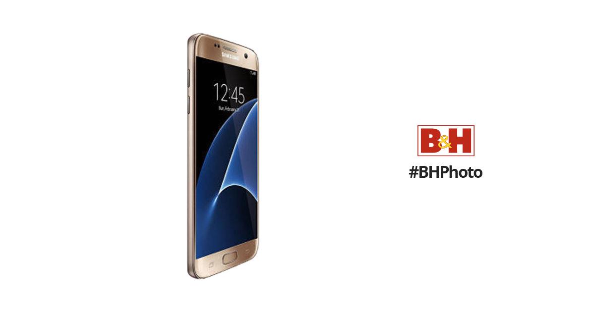 Samsung Galaxy S7 SM-G930T 32GB T-Mobile Branded Smartphone (Unlocked, Gold  Platinum)