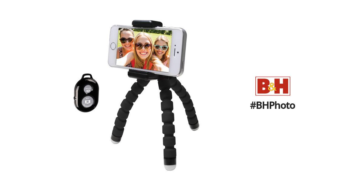 bower compact selfie bendi pod with remote bi