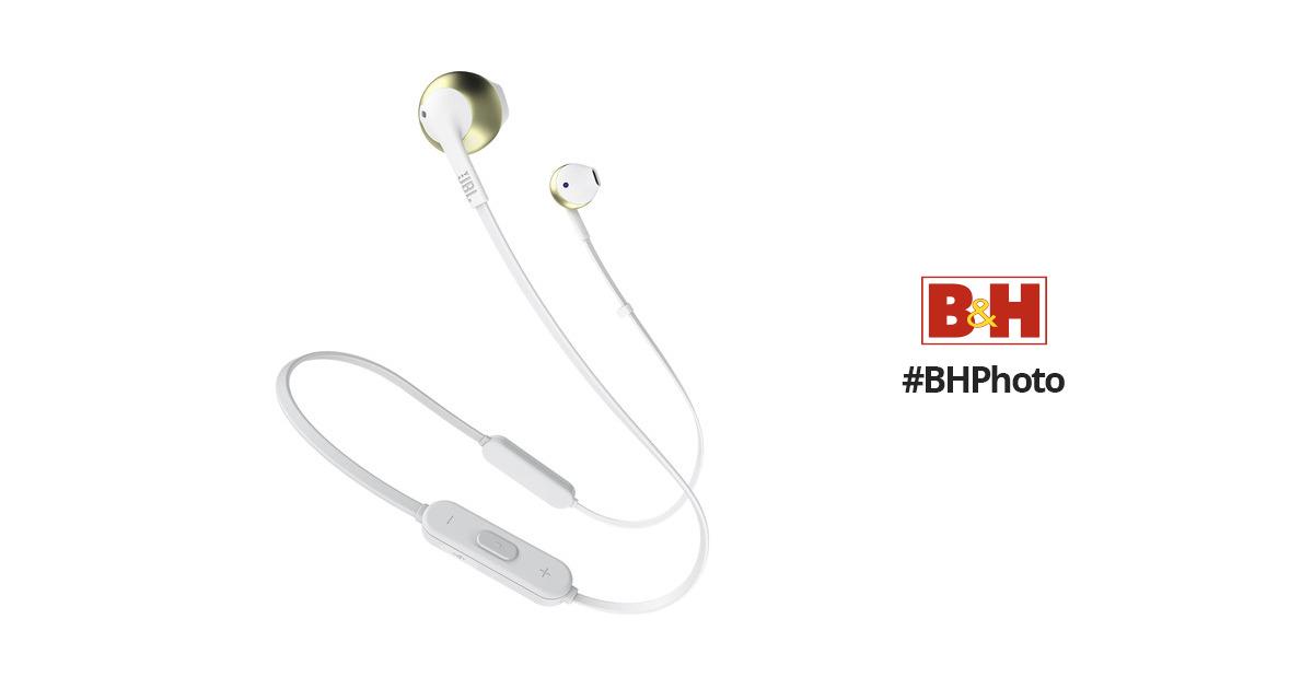 b619cb934d9 JBL TUNE 205BT Wireless Bluetooth Earbud JBLT205BTCGDAM B&H