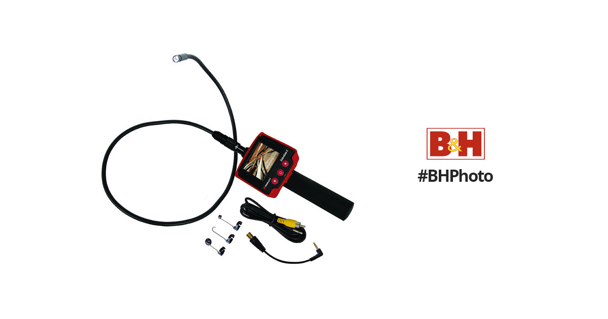 triplett cobracam 2 portable inspection camera  video monitor