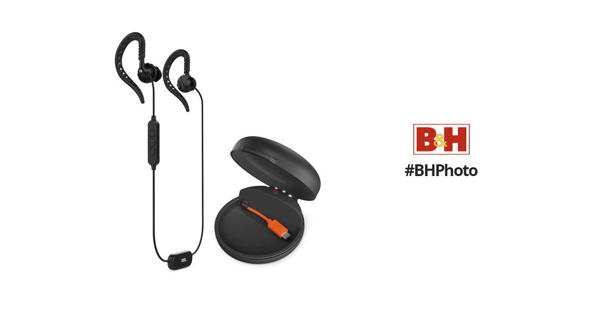 035dae05042 JBL Focus 700 Wireless Sport In-Ear Headphones JBLFOCU700BLK B&H