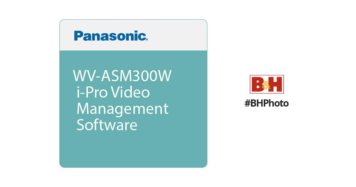PanasonicWV-ASM300W i-Pro Video Management Software