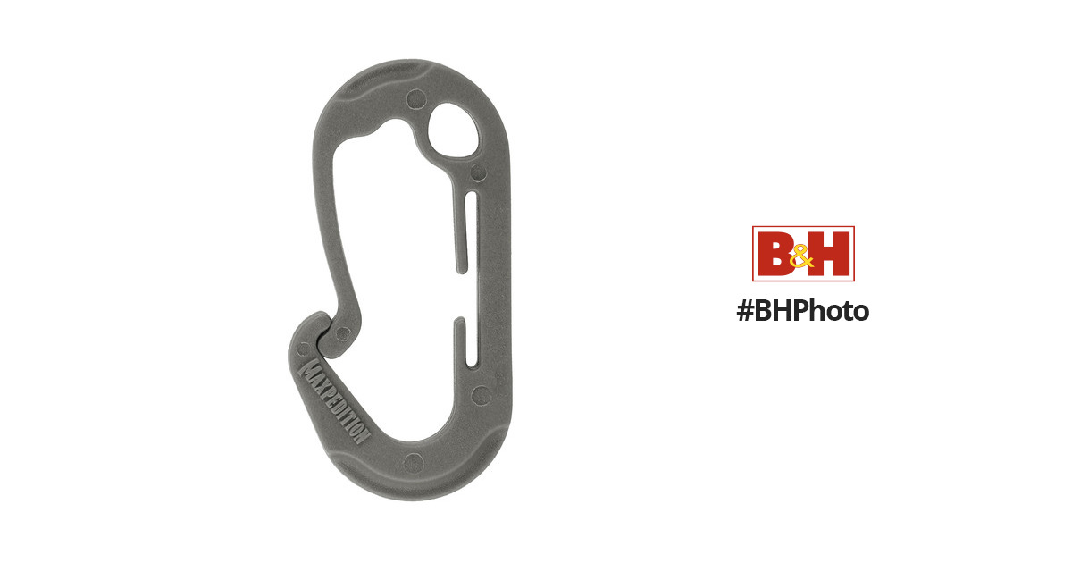 MaxpeditionJUHL Utility Hooks (4-Pack, Large, Gray)