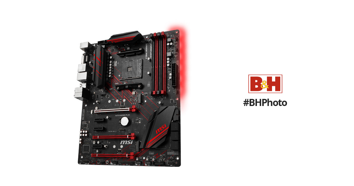 MSI X470 Gaming Plus AM4 ATX Motherboard