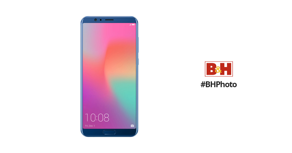 innovative design 476d0 19f46 honor View10 128GB Smartphone (Unlocked, Navy Blue)