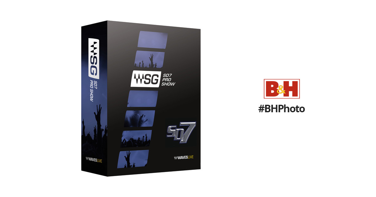 Waves SD7 Pro Show - Complete Plug-In Bundle for DiGiCo SD7 Consoles  (SoundGrid, Download)