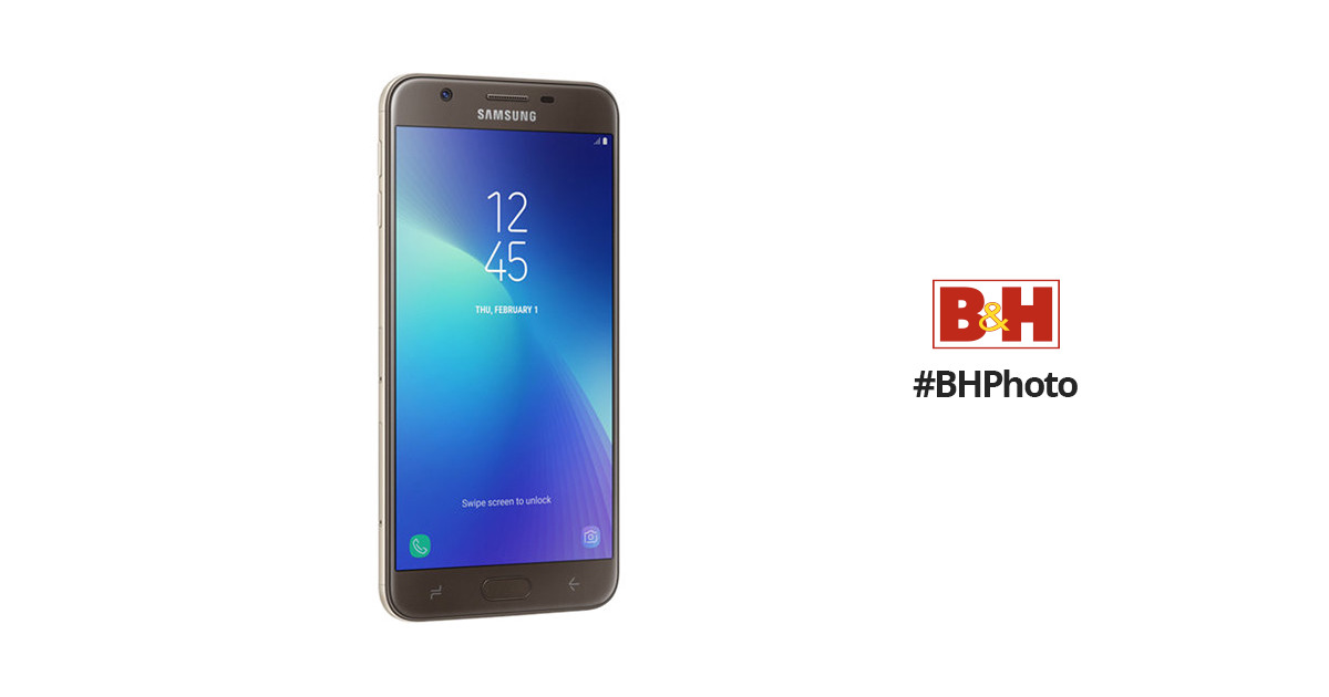 Samsung Galaxy J7 Prime2 32GB Smartphone SM-G611M GOLD B&H Photo