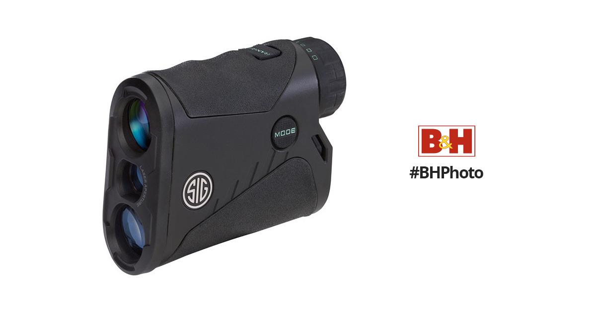 Sig Sauer 4x20 KILO1200 Laser Rangefinder Black, Class 3R