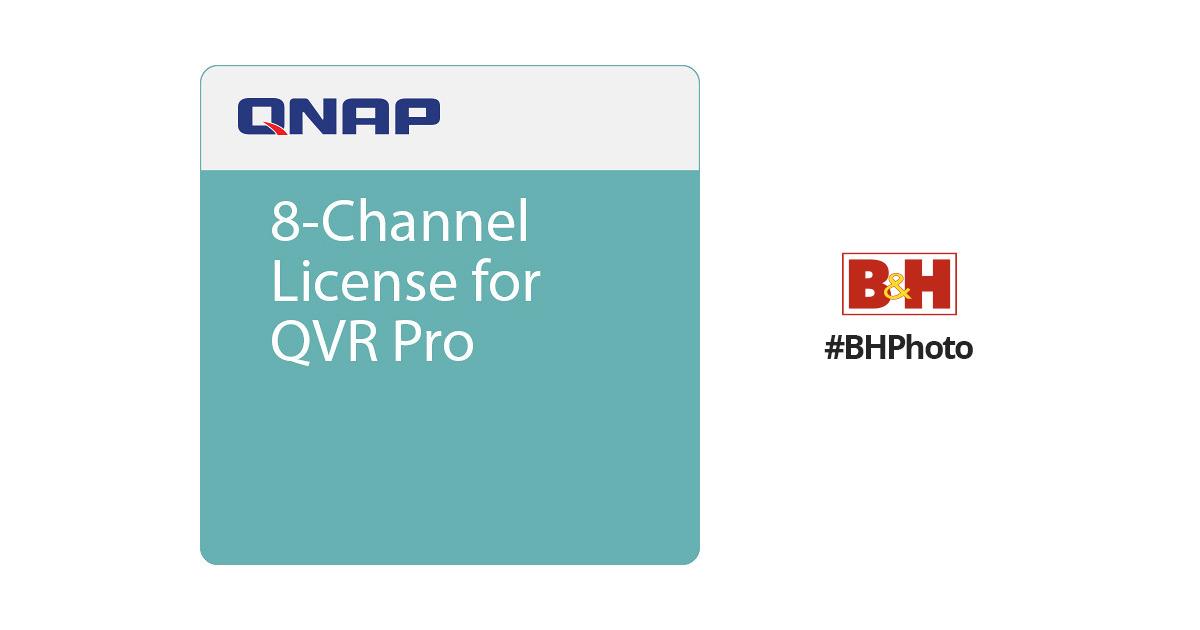 QNAP 8-Channel License for QVR Pro