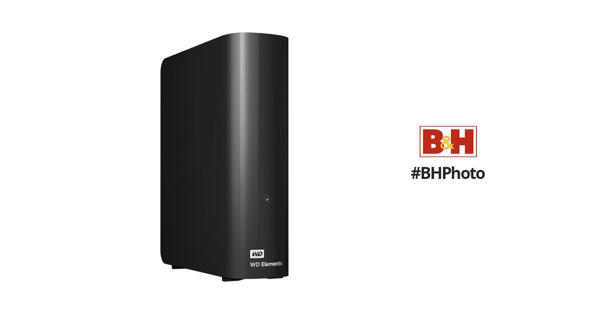 WD 8TB Elements Desktop USB 3.0 External Hard Drive