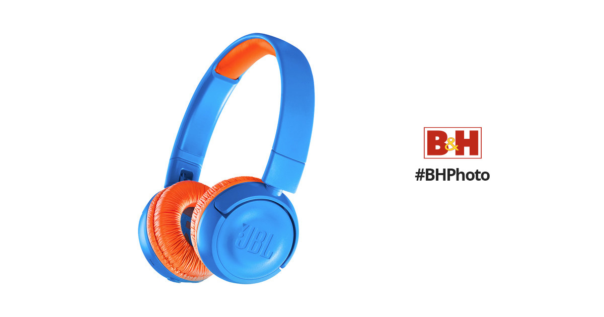 d91928a4cff JBL JR300BT Kids Wireless On-Ear Headphones JBLJR300BTUNOAM B&H