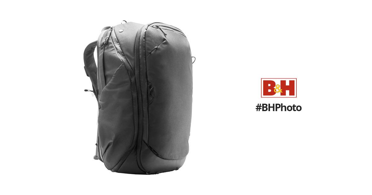 db8898a7475c Peak Design Travel Backpack (Black) BTR-45-BK-1 B H Photo Video