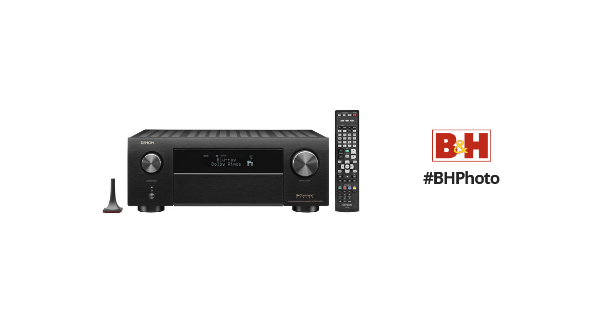 Denon AVR-X4500H 9 2-Channel Network A/V Receiver