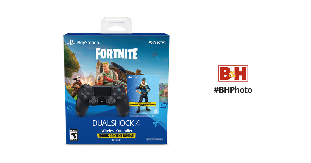 Sony Dualshock 4 Wireless Controller Fortnite Bundle 3003641