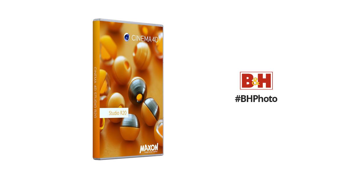 MaxonCinema 4D Studio R20 (Upgrade from Studio R17, Download)