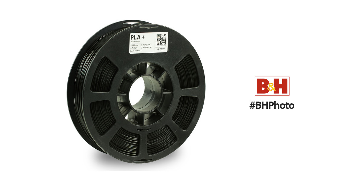 3d Printer Consumables Filament 750g Black For 3d Printer High Impact Resistance New Kodak 2.85mm Pla