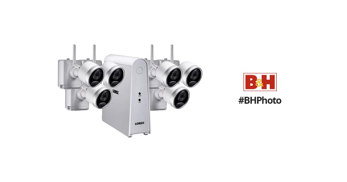 Lorex 6 Channel 1080p Dvr With 1tb Hdd Amp 6 1080p Lhwf16t1c6b