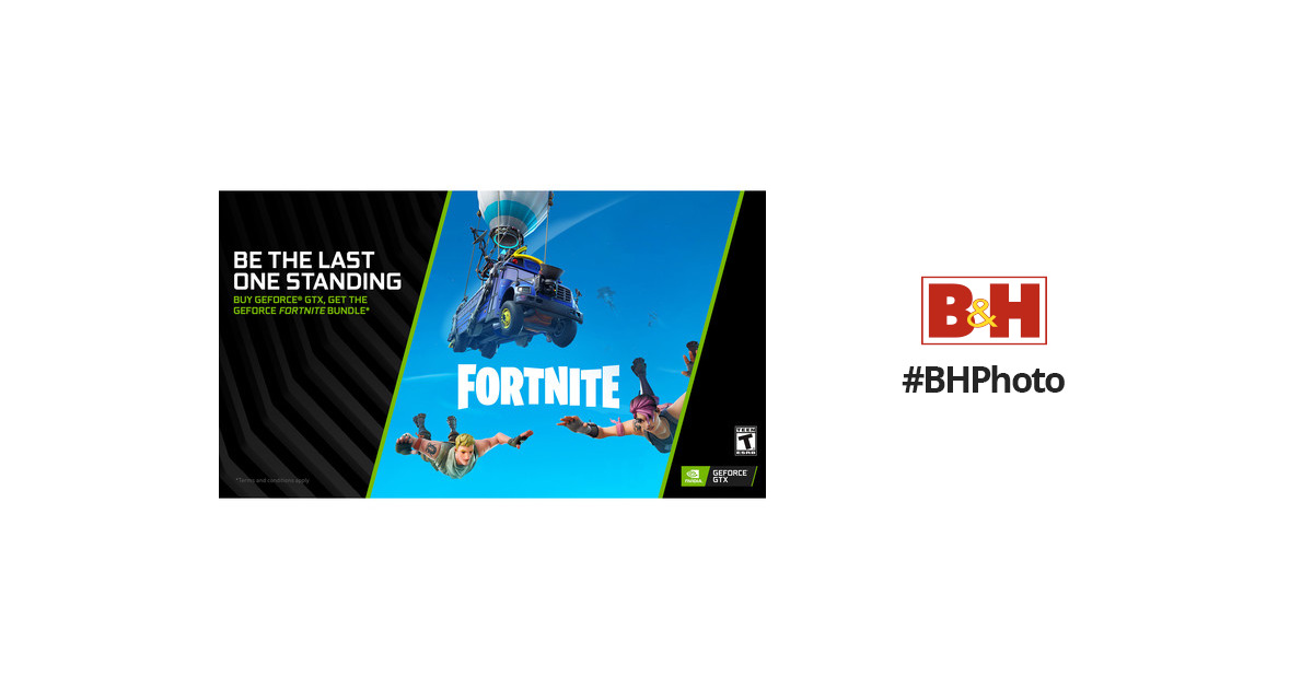 NVIDIA GeForce Fortnite Frenzy Game Bundle