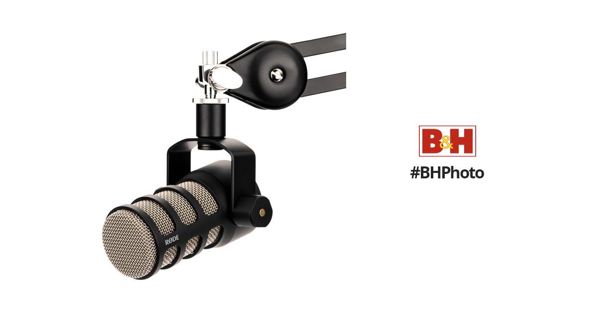 rode podmic dynamic podcasting microphone podmic b h photo video. Black Bedroom Furniture Sets. Home Design Ideas