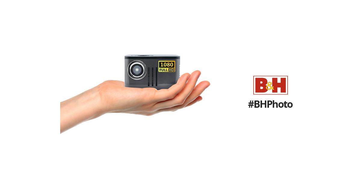 Aaxa Technologies P7 600 Lumen Full Hd Dlp Pico Kp 750 00 B Amp H