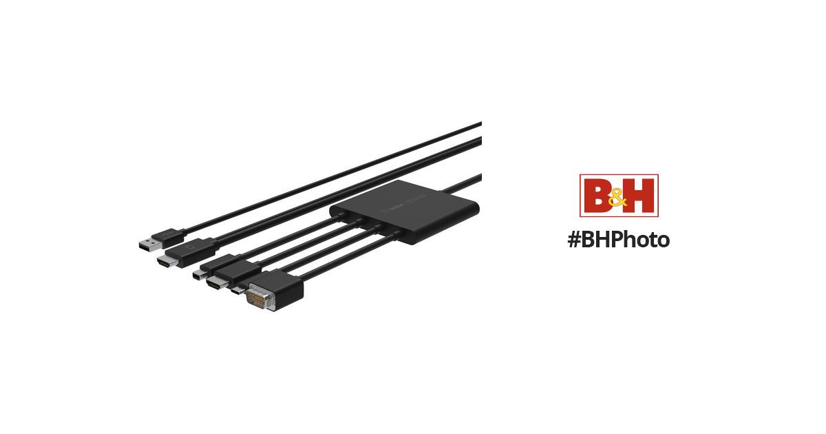 belkin multiport to hdmi digital av adapter b2b166 b u0026h photo