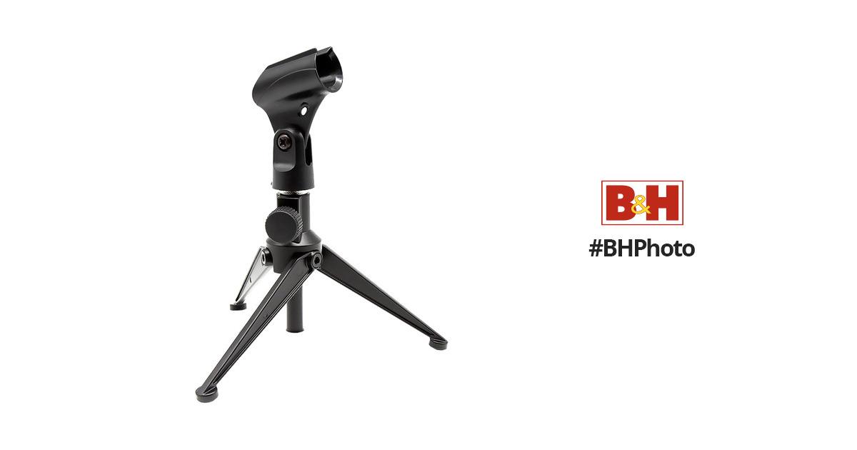 New Pyle PMKSDT25 Adjustable Desktop TriPod Microphone Stand DJ Pro Audio