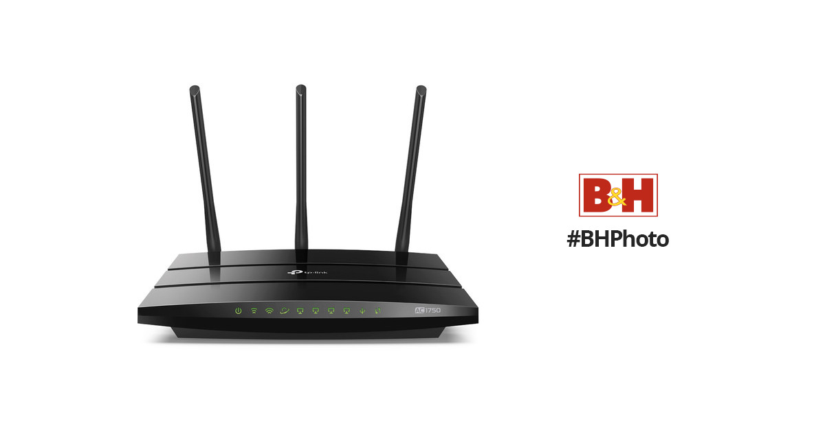 TP-Link Archer A7 AC1750 Wireless Dual-Band Gigabit Router (Refurbished)