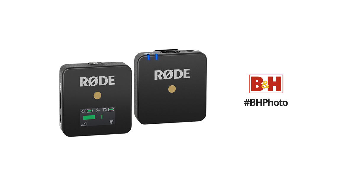 Rode Wireless GO Compact Digital Wireless Microphone System (2 4 GHz)