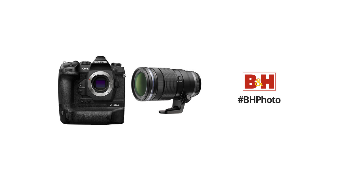 Olympus OM-D E-M1X Mirrorless Digital Camera with 40-150mm Lens Kit