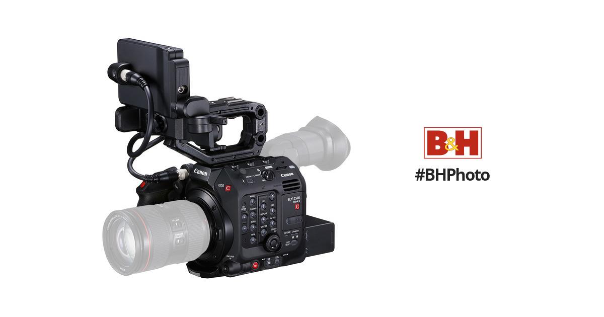 Canon EOS C500 Mark II 5 9K Full-Frame Camera Body (EF Mount)