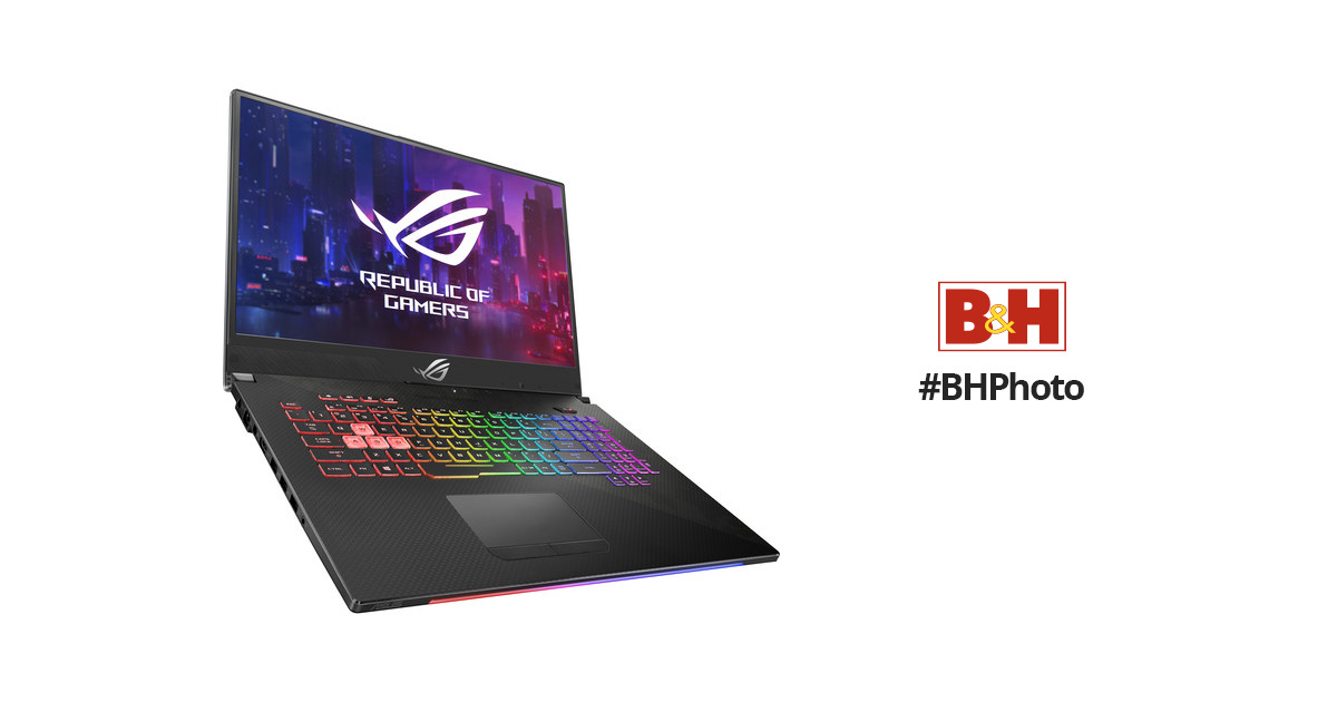 "ASUS 17.3"" Republic of Gamers Strix SCAR II Gaming Laptop"
