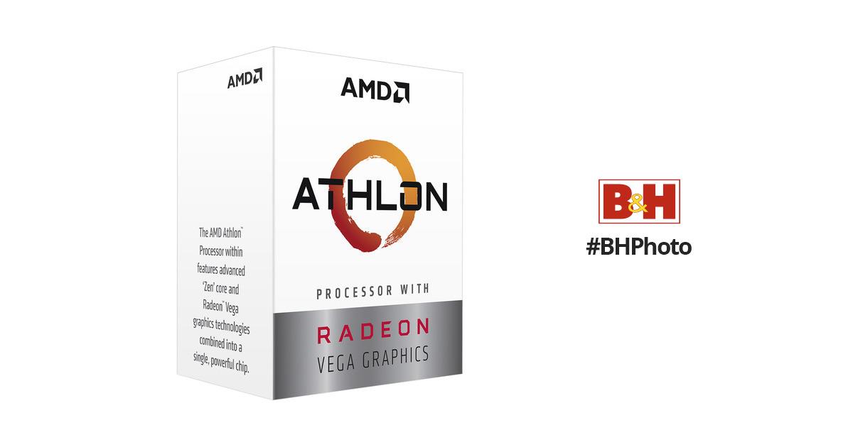AMD Athlon 3000G 3.5 GHz Dual-Core AM4 Processor