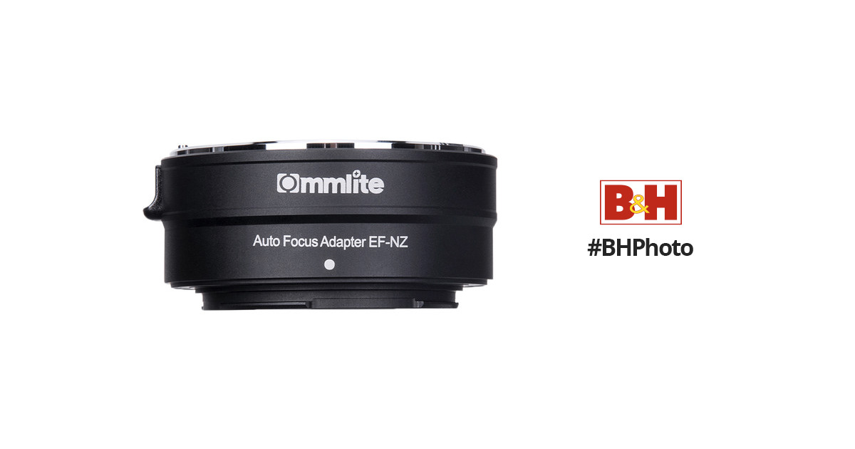 Commlite Electronic Autofocus Lens Mount Adapter for Canon EF or EF-S-Mount Lens to Nikon Z-Mount Camera