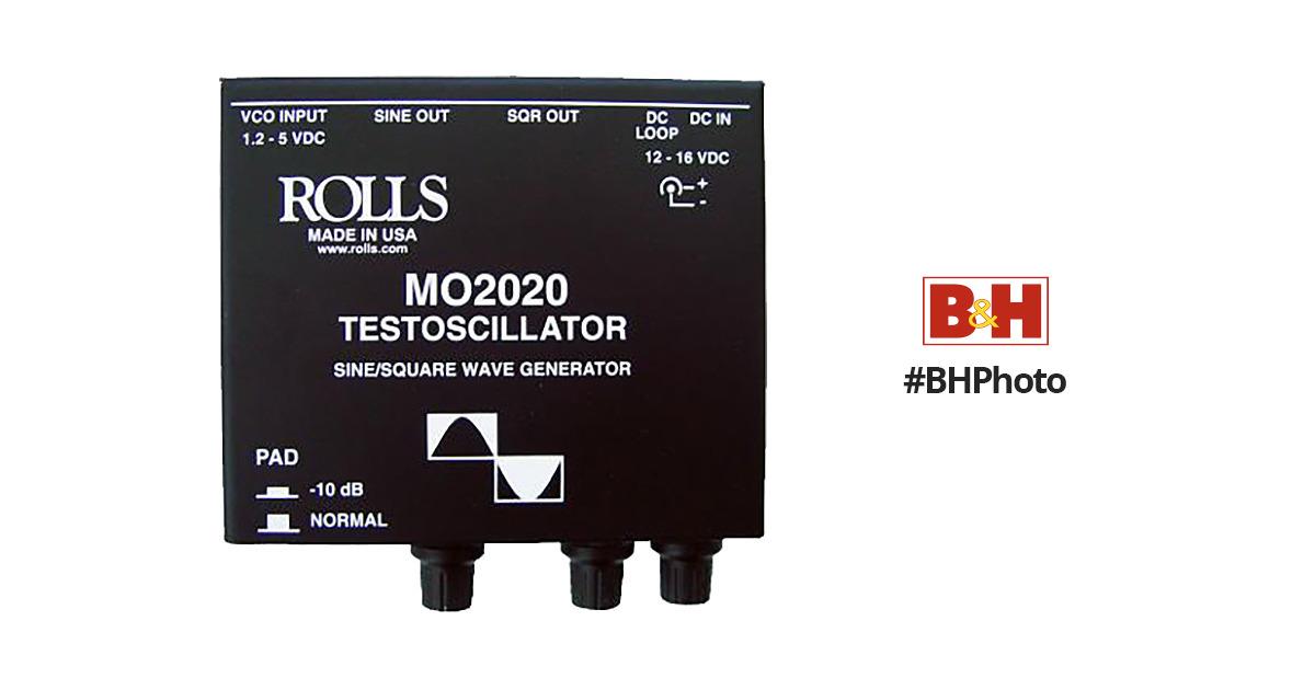 Rolls Mo2020 Testoscillator Wave Generator Mo2020 B Amp H