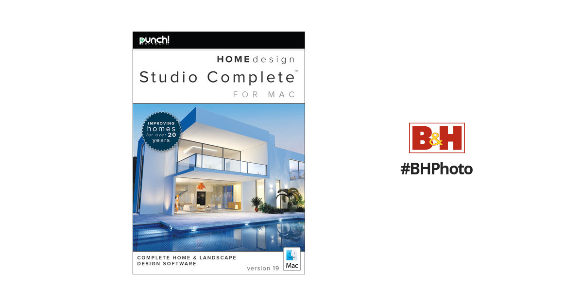Encore Punch Home Design Studio Complete For Mac V19 0043201 B H