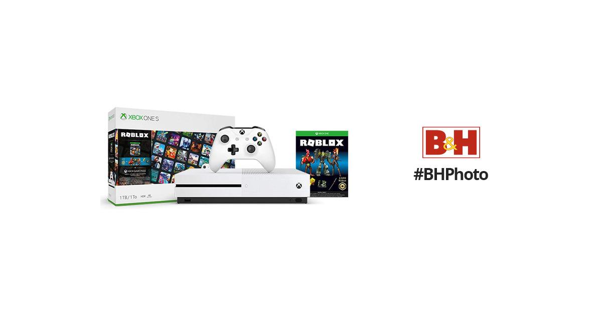 Microsoft Xbox One S Roblox Bundle 234 01214 B H Photo Video