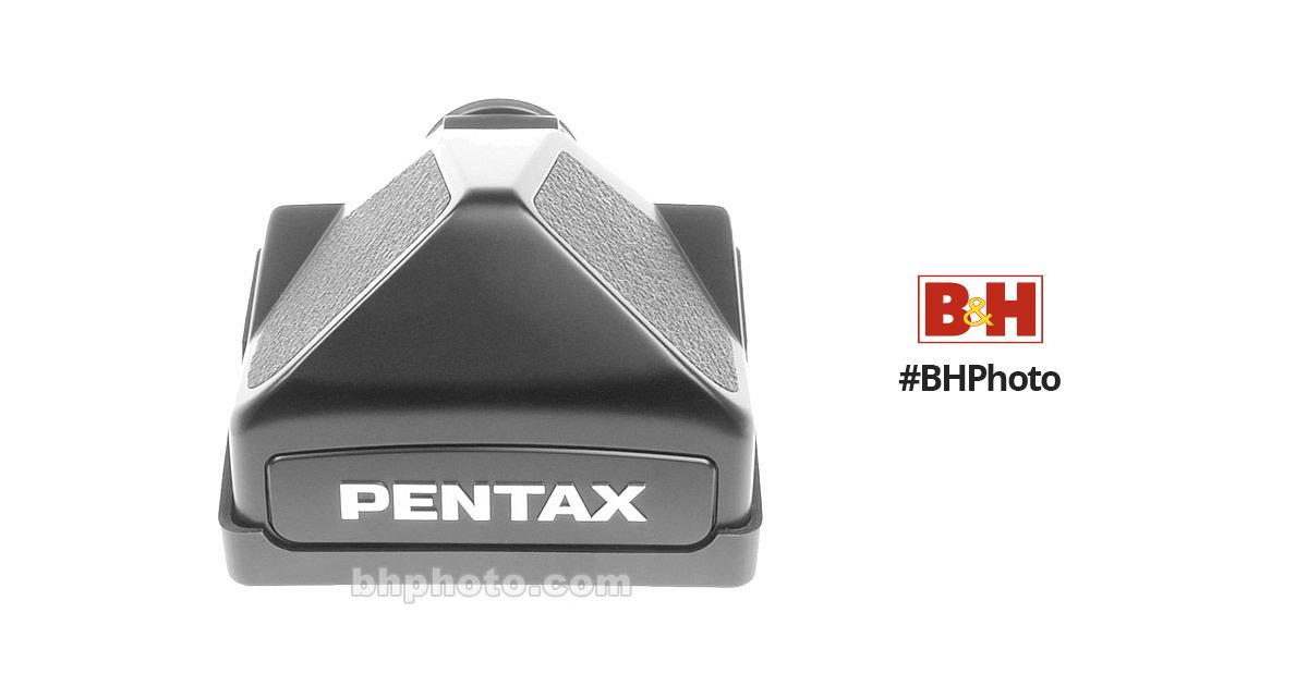 Pentax Pentaprism Finder (Non-Metered) for 67II Camera 38013 B&H