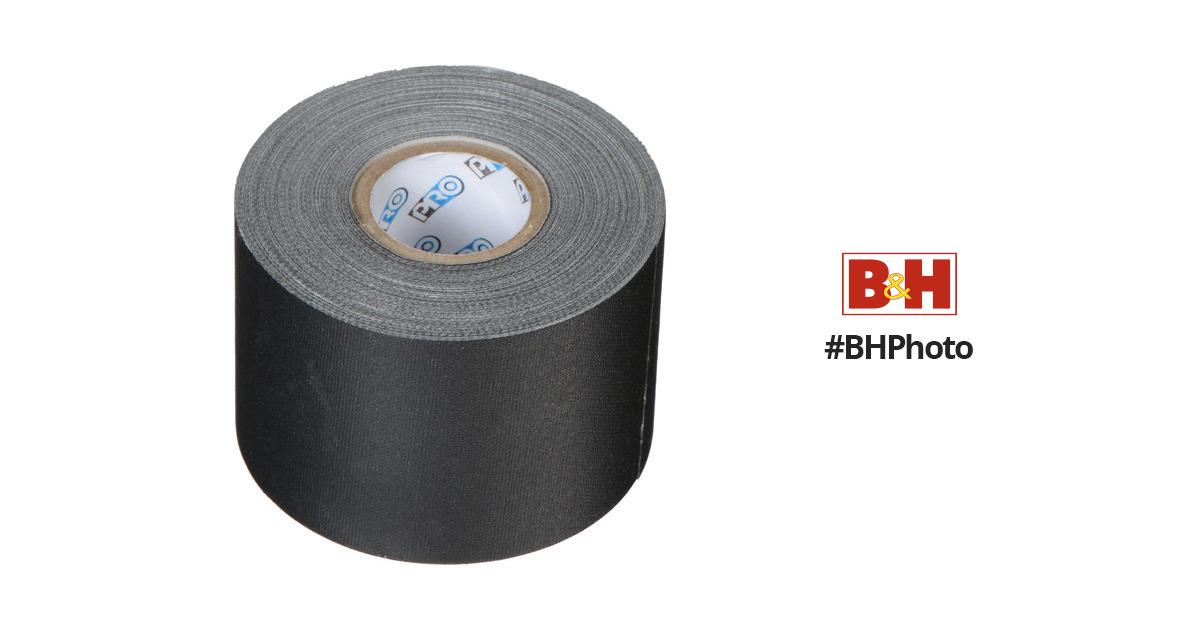 protapes pro gaffer tape 2 x 12 yd black