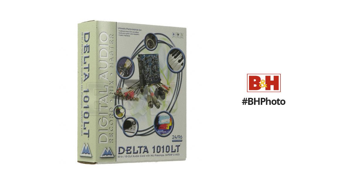 m audio delta 1010lt manual