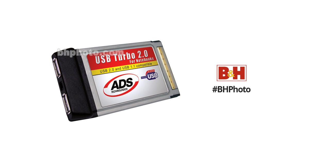 ADS USBX 2001 USB TURBO 2.0 CARDBUS DRIVERS FOR WINDOWS