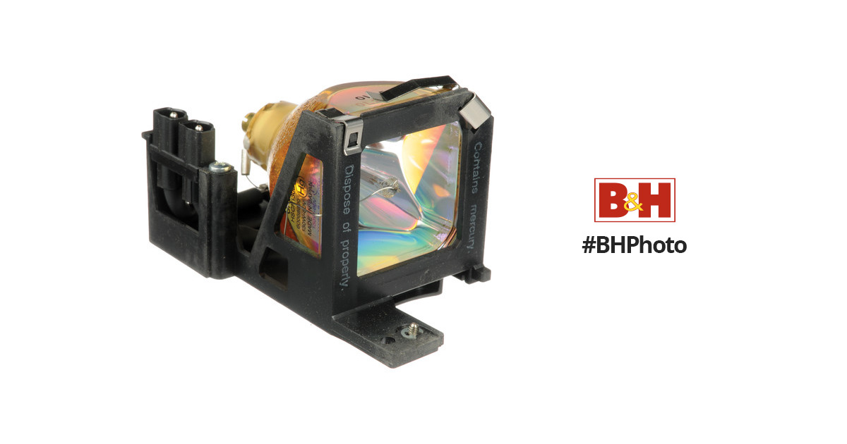 Epson Elplp19 Replacement Projector Lamp V13h010l19 B Amp H Photo