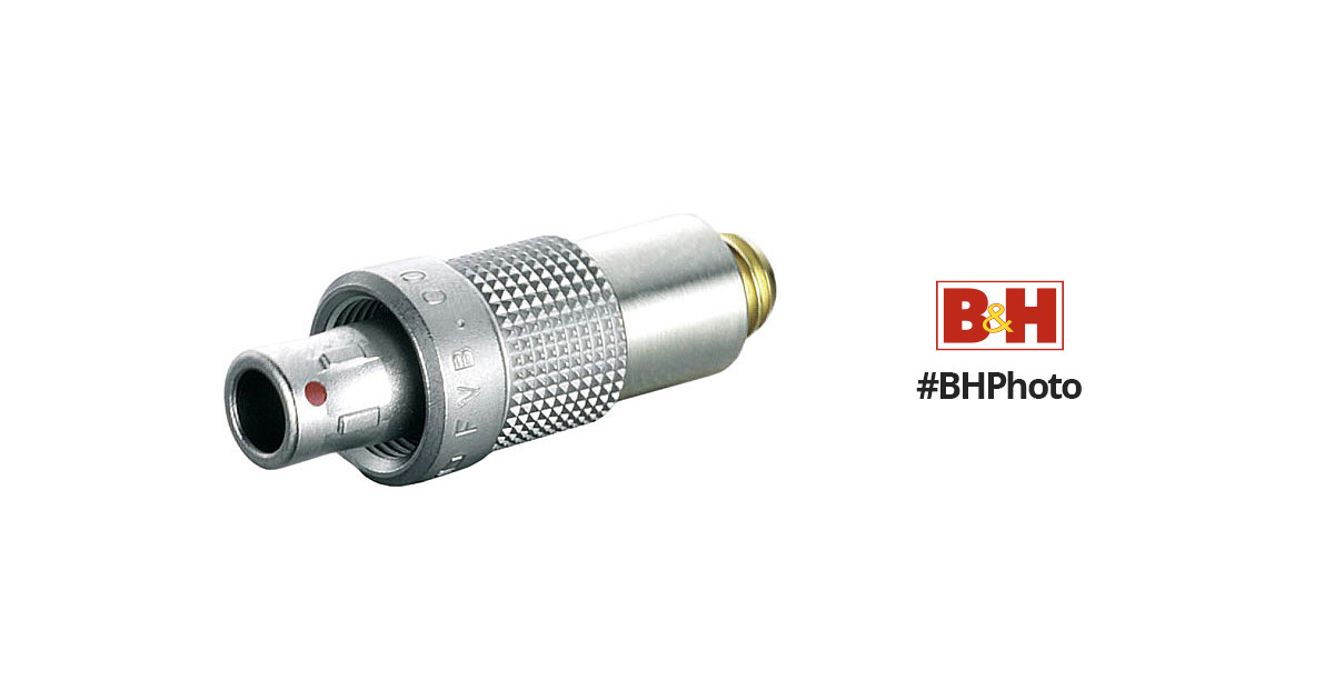 3 Pin Wire Connectors | Dpa Microphones Dad6003 Microdot To 3 Pin Lemo Connector Dad6003