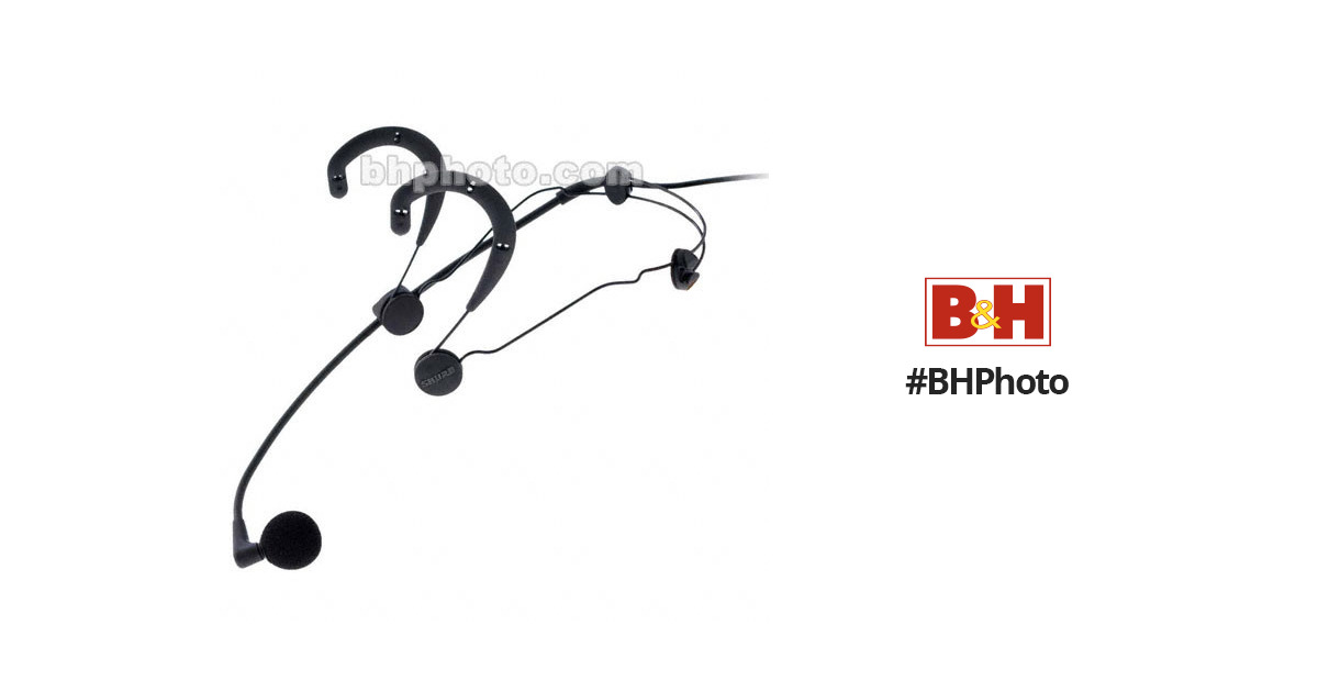 shure beta 54 headworn vocal microphone black beta 54 b h. Black Bedroom Furniture Sets. Home Design Ideas