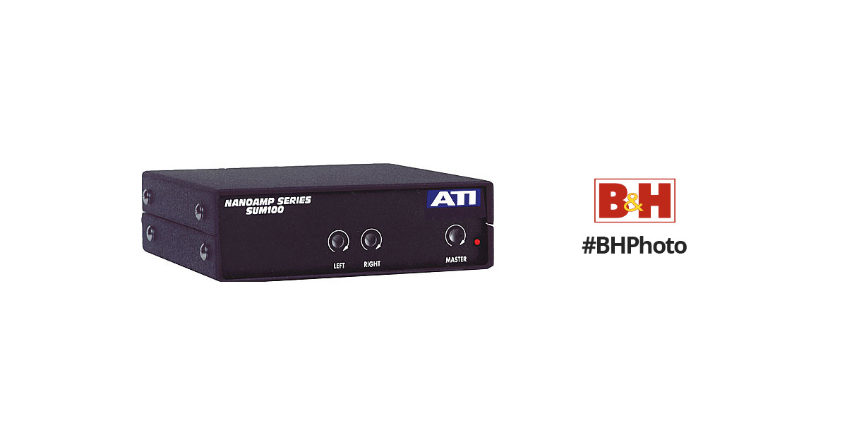 ATI Audio Inc SUM100 Summing Amplifier SUM100 B&H Photo Video