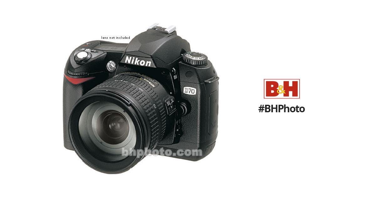Used Nikon D70 Digital Camera Body 25212 B&H Photo Video