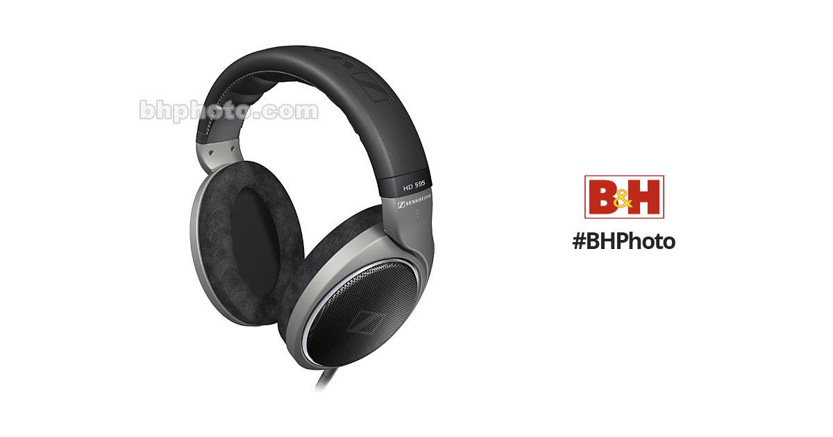 6d23d63b98e Sennheiser HD595 - Circumaural Open-Back Stereo Hi-Fi HD 595 B&H