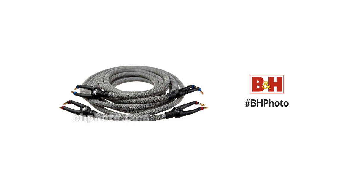 Monster Cable THX 1000 Banana to Banana Speaker Cable 127046 B&H
