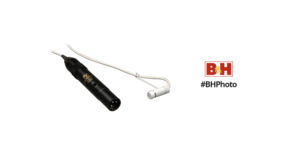 Electro-Voice RE92H Condenser Cable Professional Microphone.