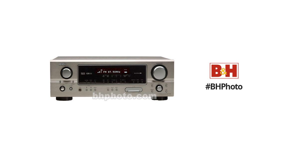Denon AVR-785S 7 1 Channel A/V Home Theater Receiver - Silver